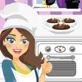 Emma ile Çikolatalı Kurabiye Pişir