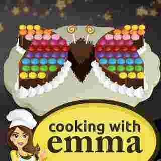 Emma ile Kelebek Kek Pişir